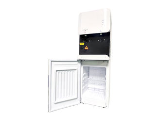 105L-BGS Free-standing Touchless POU Water Dispenser with 16L mini fridge